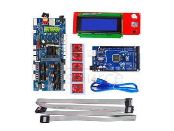 3D printer control panel 1.57 control +3D2004 master control board +4988 driver +2560R3