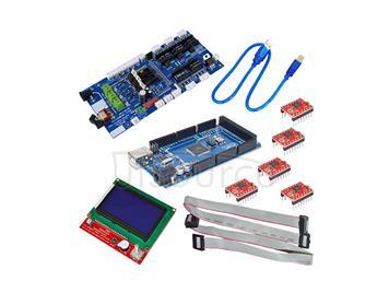 3D control board kit, 3D12864 control +3D 1.57 control board +4988+2560 R3 development board