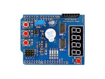 Arduino multi-function extension board based learning suite MCU development board