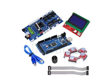 3D control board kit(3D12864+3D 1.57+4988+2560 r3)<with cooling fin+rotating cap>