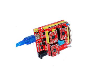 3D Kit (3DV2+ red UNO+three pieces of 4988+30CM transparent blue USB line)