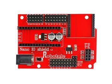 Nano 328P IO Arduino Sensor Wireless Expansion Panel Module - Red