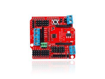 FR4 Bluetooth Sensor Expansion Board Module - Red + Blue + Black