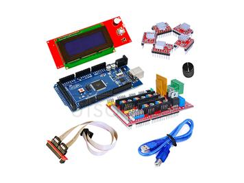 3D control board kit(2004LCD+2560r3+4988+1.4)<with cooling fin+rotating cap>