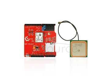 Arduino GPS shield GPS record  Shield GPS Module   SD card slot +aerial