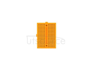 mini breadboard/yellow mini breadboard/arduino experimental platform/protable mini breadboard