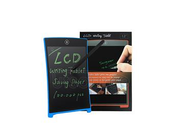 Magnet LCD Writing Tablet/Electronic Drawing Board/touchscreen 12inch—blue