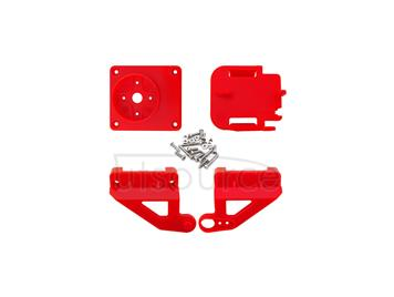 ABS Cradle Head Accessory Parts Set for FPV - Red