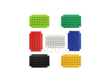 ZY-55 solderlss mini breadboard/PCB circuit board/solderless test board(seven color suite)