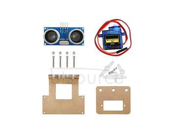 fixed bracket for smart car ultrasonic distance-measuring obstable-avoidance module/pan-tilt servo bracket