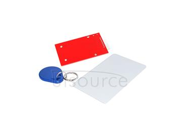 RC522 RFID IC(give away S50 fudan card,key ring and provide arduino development code )