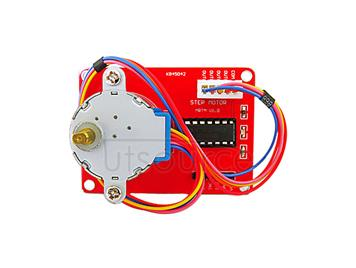 5V stepping motor+ULN 2003 drive board 1 piece red set