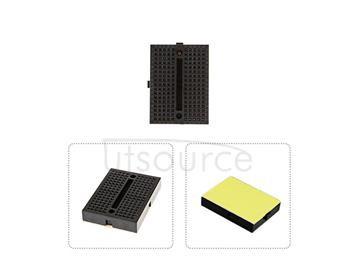 mini breadboard/black mini breadboard/arduino experimental platform/protable mini breadboard