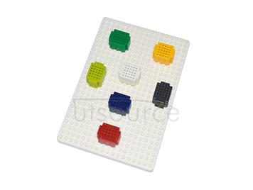 ZY-001 solderless mini breadboard/PCB circuit board/solderless test board with underplate sold by piece