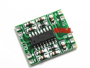 Digital mini power amplifier module PAM8403 board small speaker module 2x3W fan 27 board
