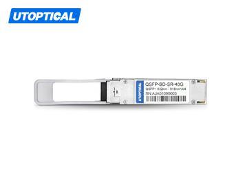 Arista Networks QSFP-40G-SRBD Compatible 40GBASE-SR Bi-Directional QSFP Module for Duplex MMF
