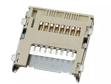 500901-0801 CONN MICRO SD CARD HINGED TYPE