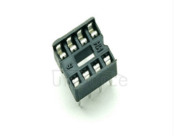 IC socket integrated into DIP microcontroller chips son round hole base 8 p foot (10 PCS)