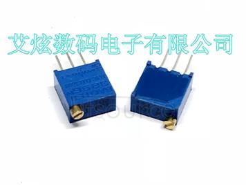 3296W-1-103 top adjustable multi ring precision adjustable resistor / potentiometer glass glaze potentiometer