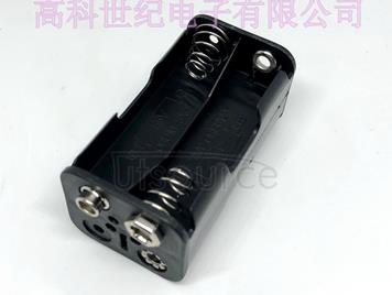 No. five four section battery seat 5 No. 4 back to back buckle double deck 1.5V battery box battery compartment