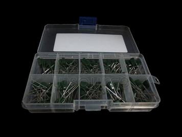 100V Polyester Capacitor, 30 kinds each 10pcs Total 300pcs