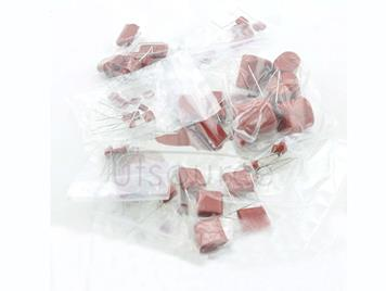 CBB Capacitor Non Polar Capacitor, 13 kinds each 5pcs Total 65pcs