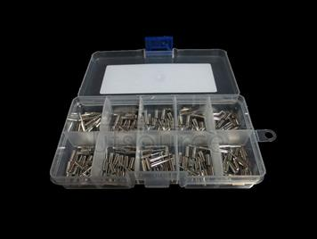 2X6 3X8 Cylindrical DIP Crystal Oscillator, 10 kinds each 20pcs Total 200pcs