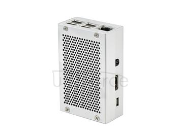 Raspberry Pi 3 Aluminum Case Metal Enclosure Box for RPI 3   60mm*90mm*30mm Silver Grey