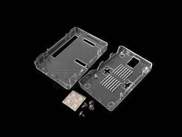Enclosure Protective Transparent Assembly Case for Raspberry Pi 3 Model B+