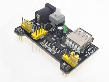 MB102 bread board + power module + 65 bread plug cable test board DIY use kit