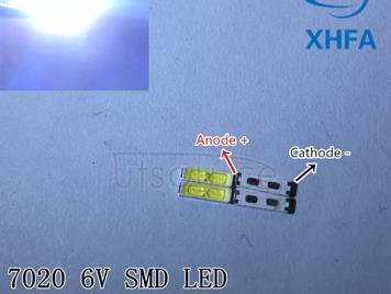SPECIAL-2 For LG LED LCD Backlight TV Application LED 1W 6V 7020 Cool white LCD TV Backlight TV Application BD72K LED