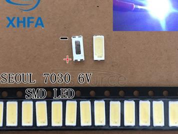 Repair Sony Toshiba Sharp LED LCD TV backlight Seoul SMD LEDs 7030 6V Cold white light emitting diode