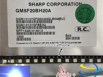 SHARP LED TV Application LCD Backlight for TV LED Backlight 1.2W 6V 3535 3537 Cool white GM5F20BH20A
