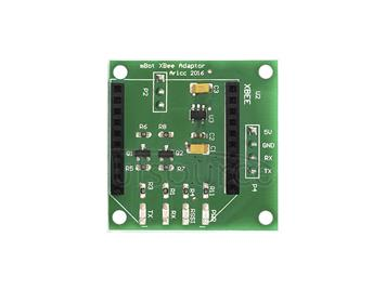 mBot XBee Adaptor Shield (Green and eco-friendly)