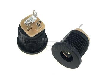 With nuts DC - 022 of the 5.5 mm diameter 2.1 mm DC power outlet
