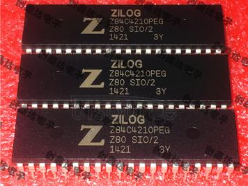Z84C4210PEG serial input and output controller integrated circuit microcontroller chip IC