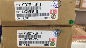 A1837/C4793  KTC4793 KTA1837  A PAIR  KEC