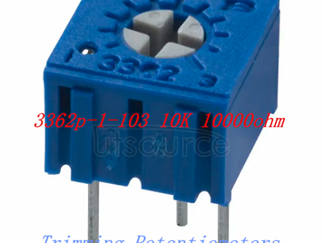 3362P-103 potentiometer 10K 10000 Ohm Trimming resistor,electronic components purchasing