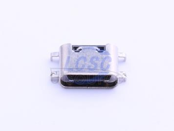 Jing Extension of the Electronic Co. Jing Extension of the Electronic Co. TYPE-C 3.1Female16P Sink boardSMT0.8H 6.50L High temperature