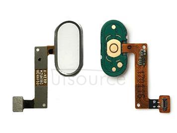 Home Button / Fingerprint Sensor Button for Meizu M5 Note(White)