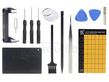JF-8147 14 in 1 Metal + Plastic iPhone Dedicated Disassemble Repair Tool Kit