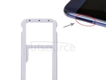 SIM Card Tray + SIM Card Tray / Micro SD Card Tray for Huawei Honor V9 (Black)