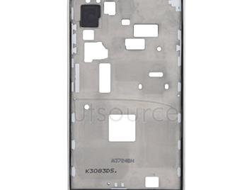 LCD Middle Board with Button Cable,  for Galaxy S4 Mini / i9195(White)