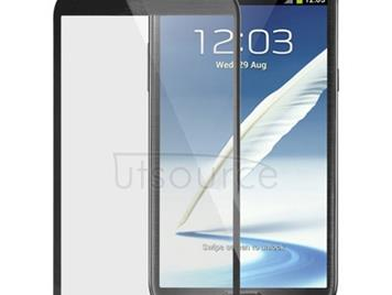 Original Front Screen Outer Glass Lens for Galaxy Note II / N7100 (Black)