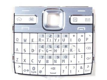 Mobile Phone Keypads Housing  with Menu Buttons / Press Keys for Nokia E72(White)