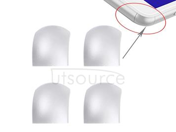 4 PCS Front Bezel Edge for Sony Xperia C4 (White)