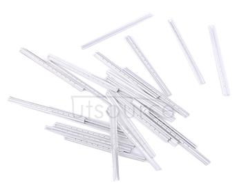1 Boxed 0.05mm Tin paper,Size:4.6*0.3cm