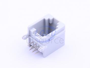 Shenzhen Cankemeng PCB-6P6C-90degree--gray Full gold(5pcs)