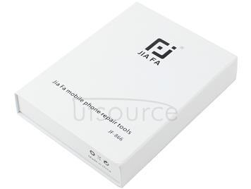 JIAFA JF-866 16 in 1 Aluminium Alloy Back Cover Correction Repair Tool Set for iPhone / iPad(Grey)