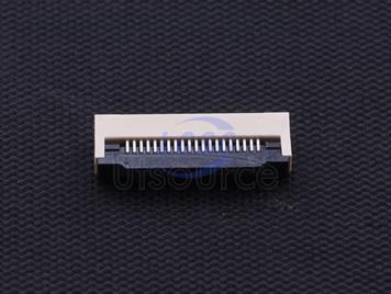 Boom Precision Elec FPCConnector 0.5mm 20P Clamshell Under the next(5pcs)